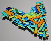 Mosaic Glass Tiles, Dichroic Tiles, Itsy Glass Tiles, Round, Rectangles & Square Tiles