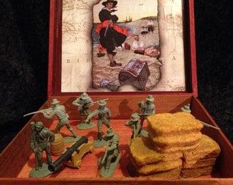 Pyrate Treasure Box Gun Crew-Battle Of New Orleans