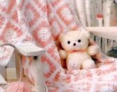 Baby Blanket Crochet Pattern, Granny Square Afghan, Crib Blanket Pattern