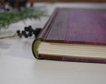 Handmade Journal (hardback with leather)