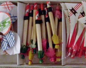 Box of special toothpicks from Japan.