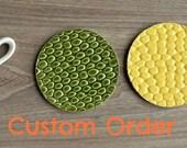 Ceramic Coaster - Set of 4