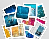 20% OFF SALE: Paris Mini prints, Set of 12 - Fine art illustration Prints Paris art Wall art Paris home decor Living room art Gift ideas for