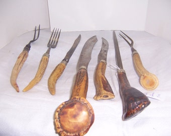 BONEHANDLED CUTLERY SET