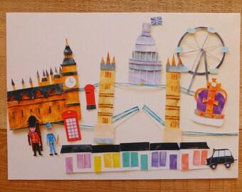 A4 Print 'London'