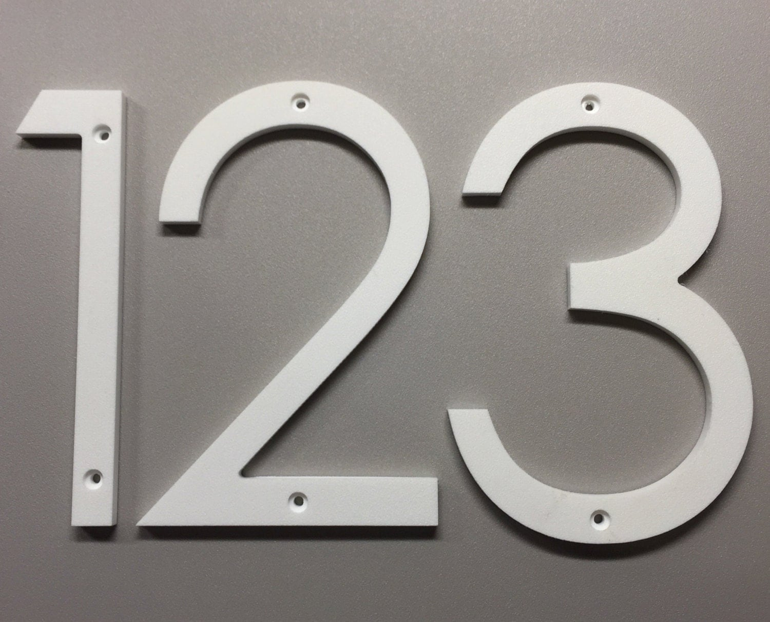 house numbers and letters 5 inch modern house numbers letters 22136 | il fullxfull.994189085 texx