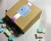 Choose YOUR COLOR Sugar Cubes (108) for Tea Parties, Champagne Toasts, Tea, Coffee, DIY Favors, Berries, Gift Ideas