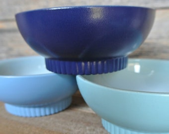 Upcycled Fire King Bowls, Pyrex Set
