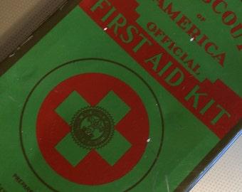 Boy Scout First Aid Tin