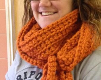 Handmade Crochet tie scarf/cowl/shawl