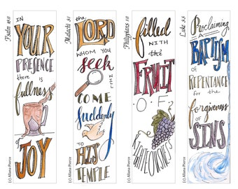 Advent 2 Bible Bookmark / Bible Journal Tag **INSTANT DOWNLOAD** Perfect Advent Activity!