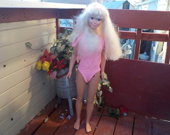 1976 My Size  Doll she is 36 inches tall :)S/ SALE Use Coupon Code CLEARINGOUT25 Must Be used at check out can not change after paying for
