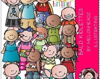 Bald Kidlettes clip art for Baylee