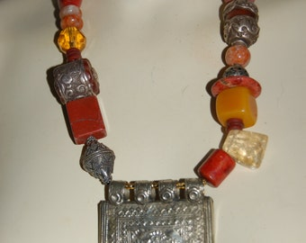 One Of A Kind Tibet Necklace