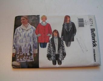 Butterick Pattern 6774 fast easy Miss Jacket