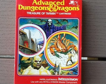 Advanced Dungeons & Dragons Treasure of Tarmin Cartidge