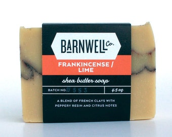 Frankincense / Lime Shea Butter Soap