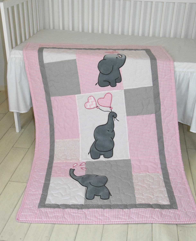 Baby Girl Safari Crib Bedding