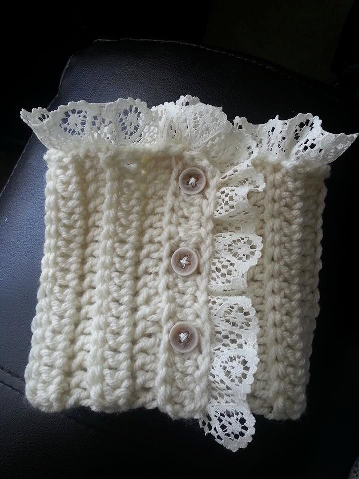 Crochet Hat Pattern With Cuff : Boot Cuff Crochet Pattern