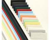 Folded Knit Bias Tape - Oatmeal, Gray, Off White, Ivory, Yellow, Mint, Pink, Sky, Blue, Red, Green, Navy, Charcoal or Black - One pack 88904