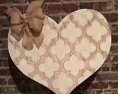 Wood Valentine's Door Hanger