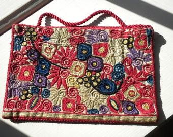 Art Deco Embroidered Bag
