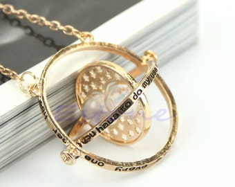 Harry Potter time Turner beautiful necklace