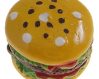 5pc Hamburger Resin Cabochons-10195