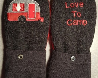 Love to camp Mittens