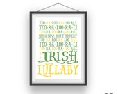 Too Ra Loo Ra Loo RaL Nursery Rhyme - Irish Baby Print