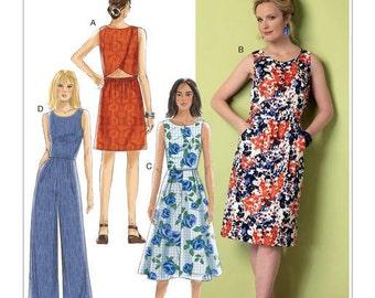 Butterick 6351 uncut new size 6 - 14 womans dress
