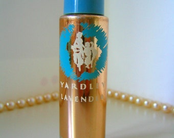 YARDLEY LAVENDER Cologne Perfume Purse Bottle or Travel Bottle 3 drams Vintage Collectible Perfume Bottle