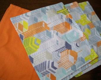 FLANNEL WASHUP CLOTHS - measures 7.5 x 9.5