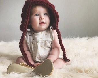 The Jasmine Bonnet - Crochet Pattern // Tutorial // Easy