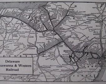 Lackawanna Railroad Etsy