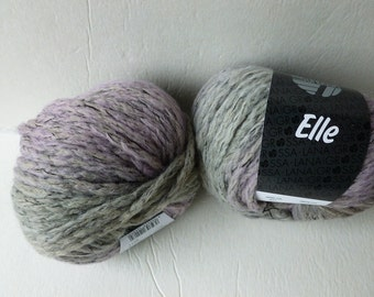Yarn Sale  - Grey and Lavender 11 Elle Lana Grossa