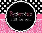 Reserved for Rhon