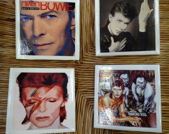 David Bowie Coasters