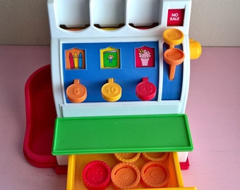 Vintage Fisher Price Register 1994
