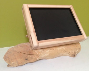 Rustic Birch Wood Tiliting iPad Air Stand for Square Retail POS or Home  Applications