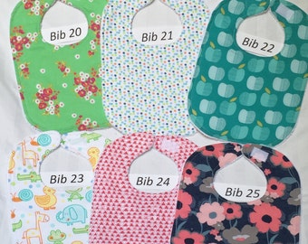 Baby Bibs Handmade, Infant Bib, Shower Gift Idea, Toddler Baby Bib, Gender Neutral Bibs, Super Absorbent Bibs, Baby Shower Gift, Drool Bibs
