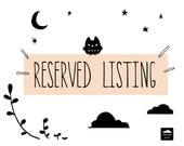 Reserved Listing for Leonne