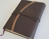Custom Order Leather Bible Cover Rebinding Reserved for Leanne (463B)