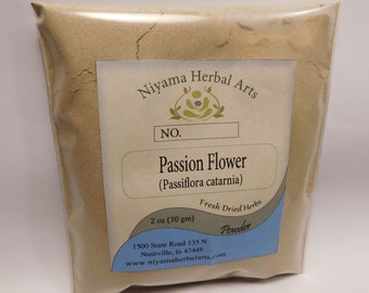Passion Flower Powder, 100% Pure Premium Quality (Passiflora incarnia)