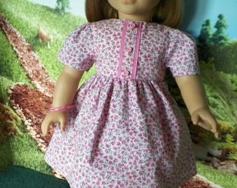 18 inch Doll Dress with Wish Bracelet