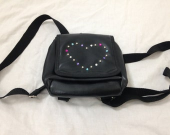 heart mini backpack