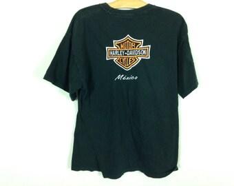 harley davidson shirt size L
