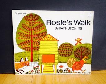 vintage Rosie's Walk Children's Book 1980'S