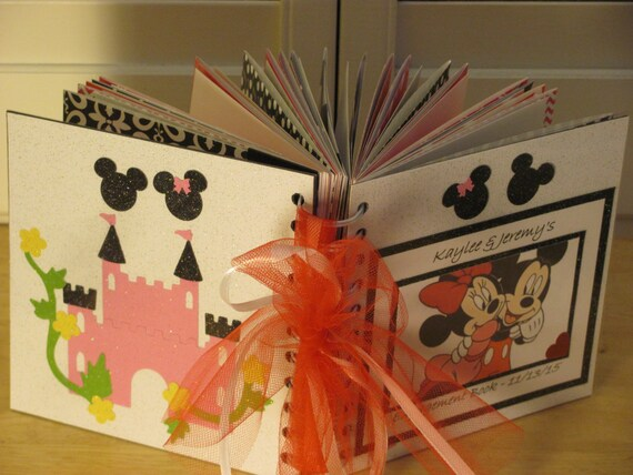 disney autograph book mickey and minnie mouse honeymoon