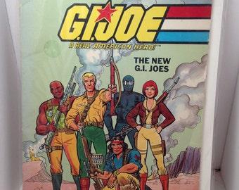 GI JOE Vintage Coloring Book